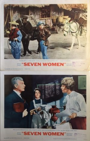 Seven Women Lobby Card