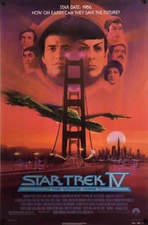 Star Trek IV Poster (1)