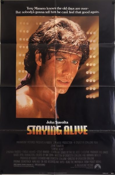 Staying Alive Original One Sheet Poster