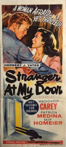 Stranger At My Door Daybill (1)
