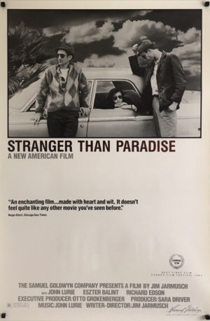 Stranger Than Paradise Original US One Sheet