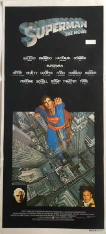 Superman The Movie Daybill
