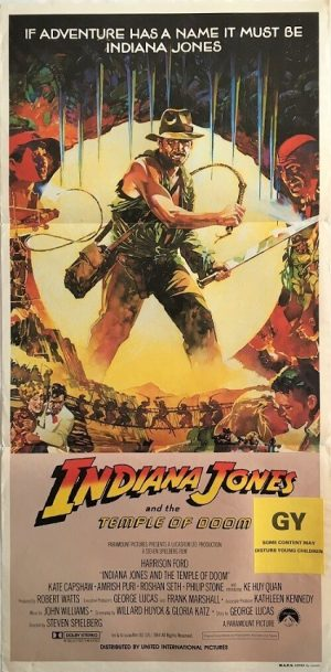 Indiana Jones and the Temple Of Doom Daybill poster Jungle (1)