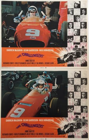 The Challengers Lobby Cards
