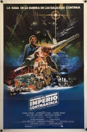 The Empire Strikes Back Original Spanish One Sheet (1)