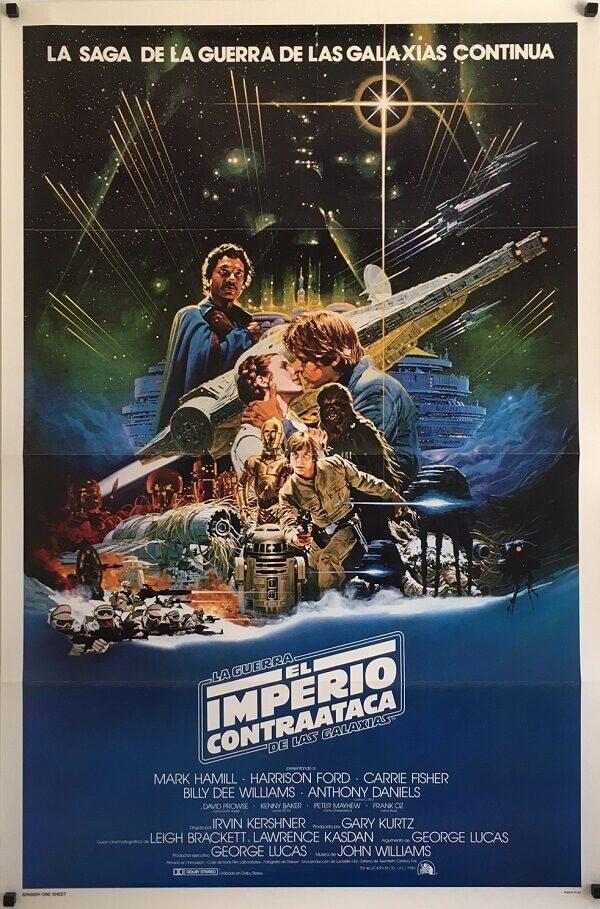 The Empire Strikes Back Original Spanish One Sheet (1)