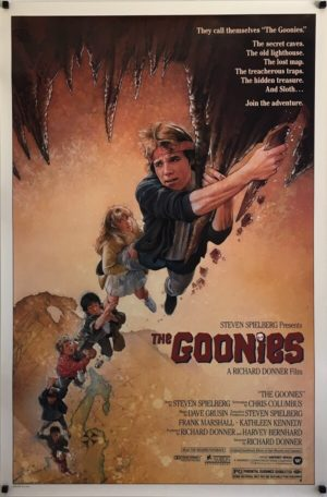 The Goonies US One Sheet Movie Poster by Drew Struzan