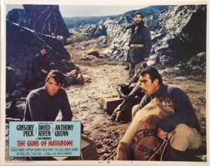 The Guns Of Navarone Lobby Card