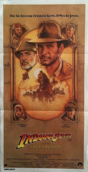 Indiana Jones And The Last Crusade Daybill
