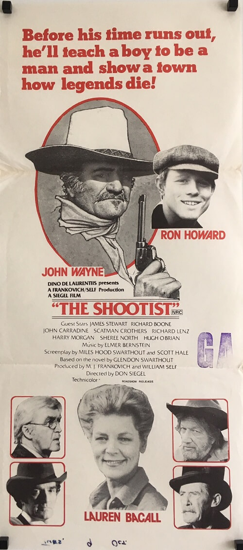 The Shootist Daybill