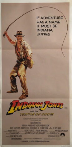 Indiana Jones And The Temple Of Doom Daybill Whip