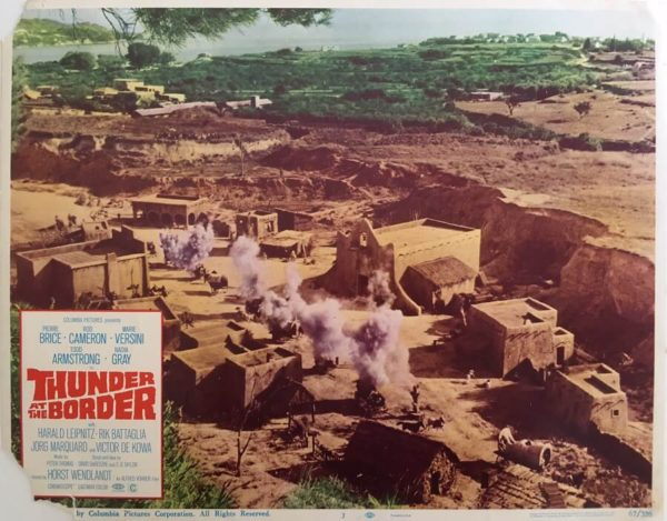 Thunder At The Border Lobby Cards