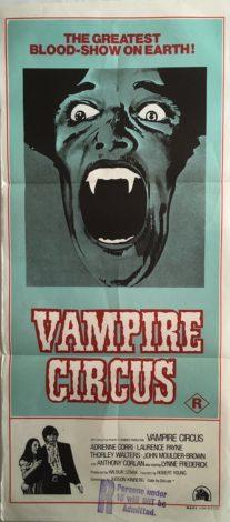 Vampire Circus Daybill