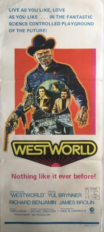 West World Australian Daybill poster