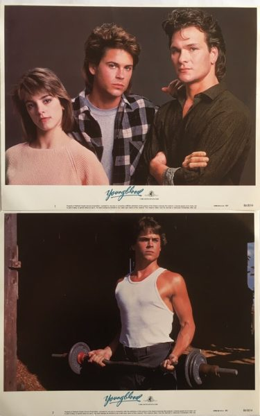 Young Blood Lobby Cards