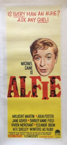Alfie Australian Daybill Linen Backed 1966