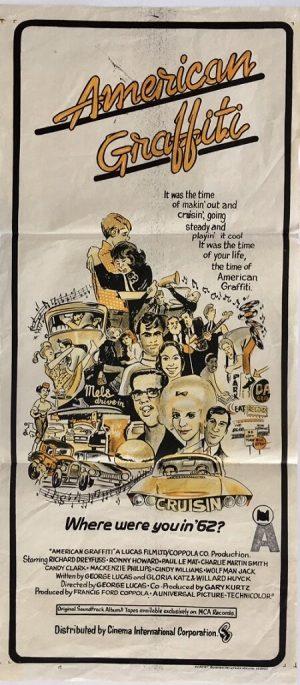 American Graffiti australian daybill poster 1973