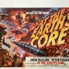 At The Earths Core UK Quad Poster 1976 Linen Backed