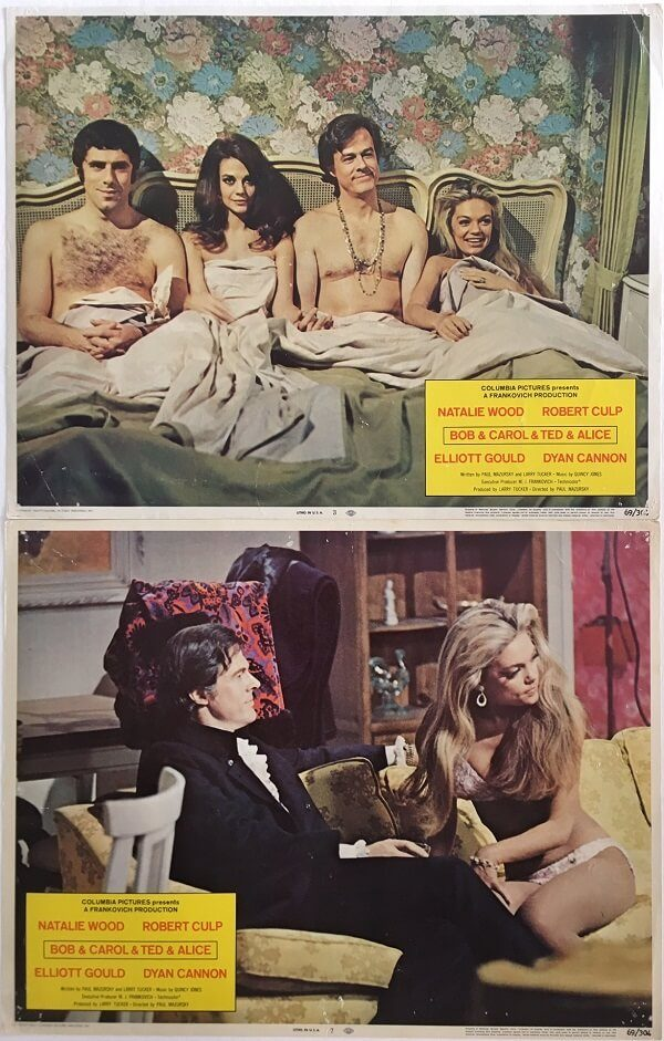 Bob & Carol & Ted & Alice Lobby Card
