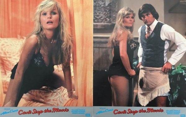Cant Stop The Music Lobby Card 1980