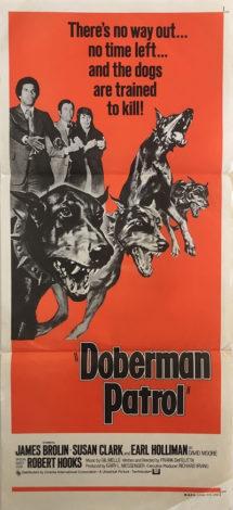 Doberman Patrol Daybill Poster