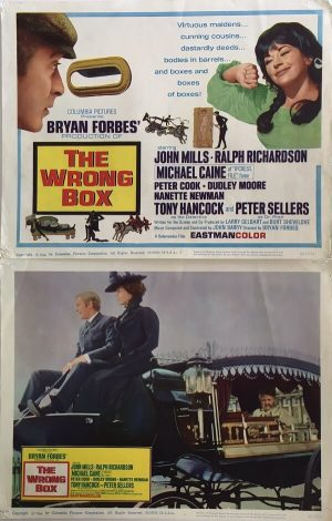 The Wrong Box Lobby Card 1966