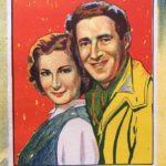 Genevieve Australian daybill 1954 linen backed