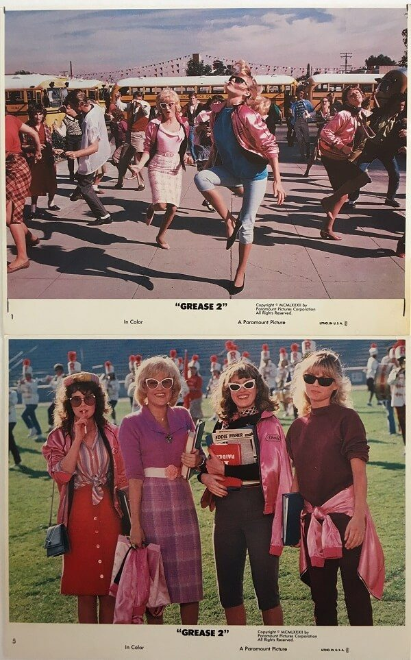 Grease 2 lobby cards 1982