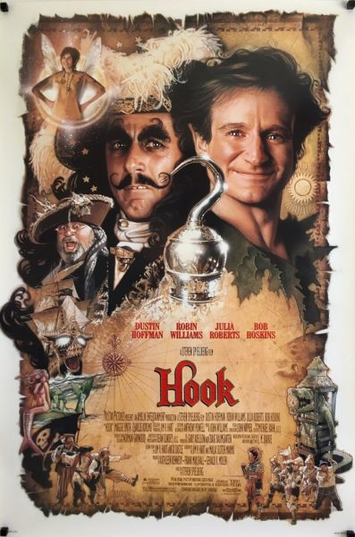Hook US one sheet poster 1991