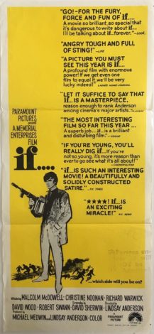 If Daybill Poster 1968