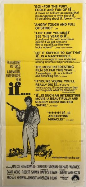 If Daybill Poster 1968