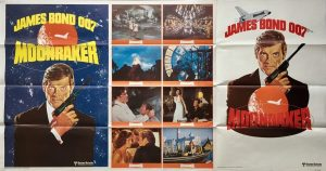 Moonraker One Stop Advance Poster 1979