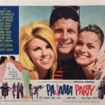 Pajama Party Lobby Card 1964
