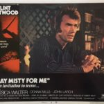 Play Misty For Me Lobby Card 1971
