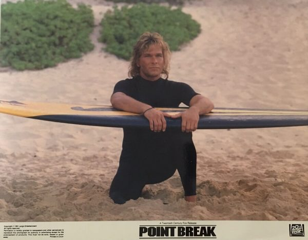 Point Break Lobby Card 1991