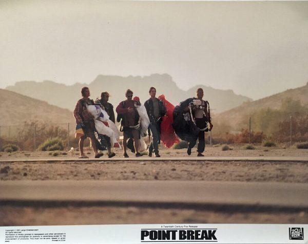 Point Break Lobby Card 1991