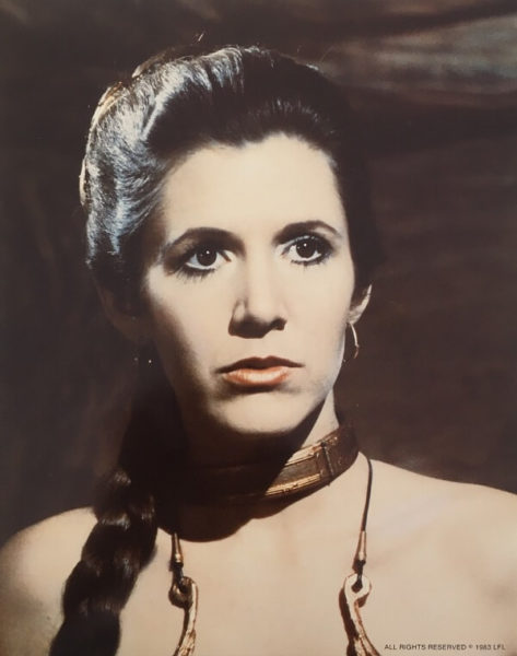Return of the Jedi publicity photo - Leia (1)
