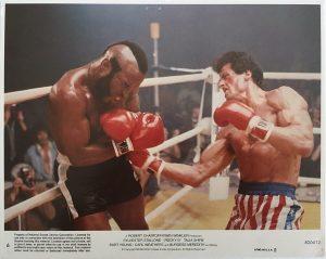 Rocky 3 lobby card 6 1982