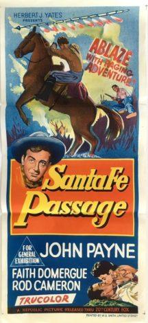 Santa Fe Passage Australian daybill 1955