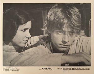 Star Wars Black And White Still - Luke And Leia (1)
