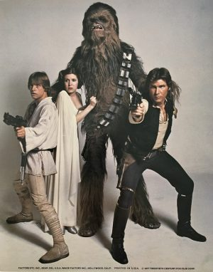 Star Wars Publicity Photo 1977 (1)