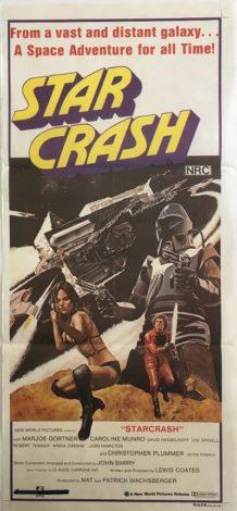 Starcrash Daybill Poster 1978