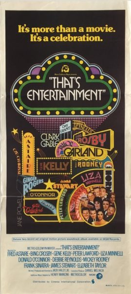 That's entertainment daybill poster