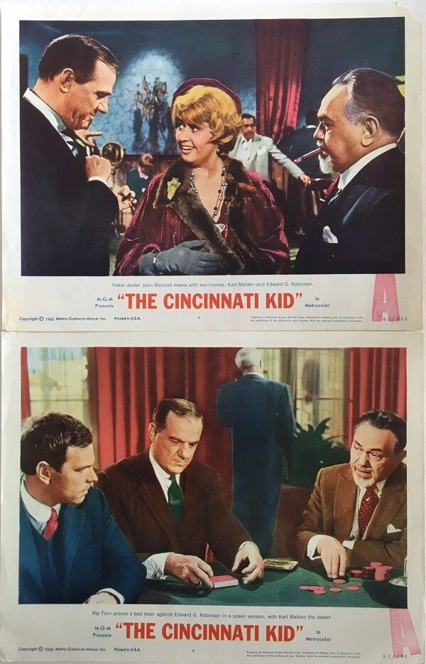 The Cincinnati Kid Lobby Card 1965