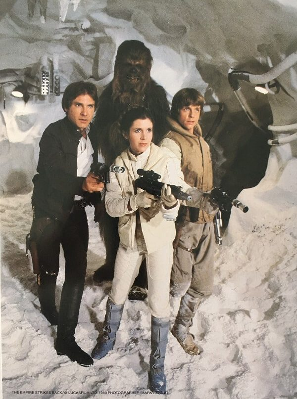 The Empire Strikes Back Publicity Photo - Group (1)
