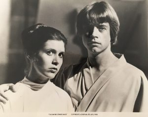 The Empire Strikes Back Publicity Photo - Luke And Leia (1)