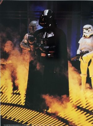 The Empire Strikes Back Publicity Photo - Vader and Fett (1)
