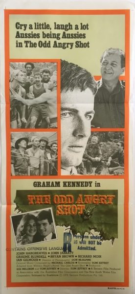 The Odd Angry Shot Daybill Poster
