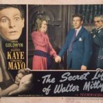 The Secret Life Of Walter Mitty Lobby Card 1947