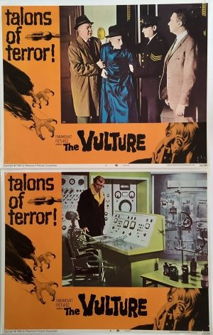 The Vulture lobby card 1966